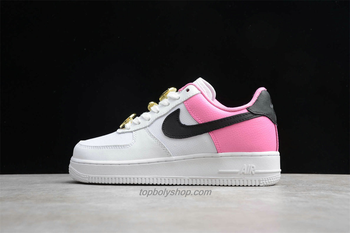 Nike Air Force 1 Low 07 SE AA0287 107 Dames Wit / Roze ...