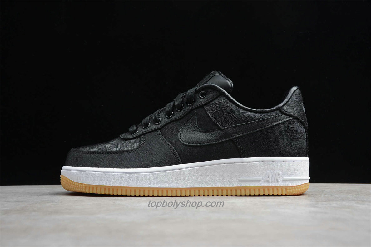 Nike Air Force 1 Low PRM CLOT CZ3986 001 Zwart Schoenen