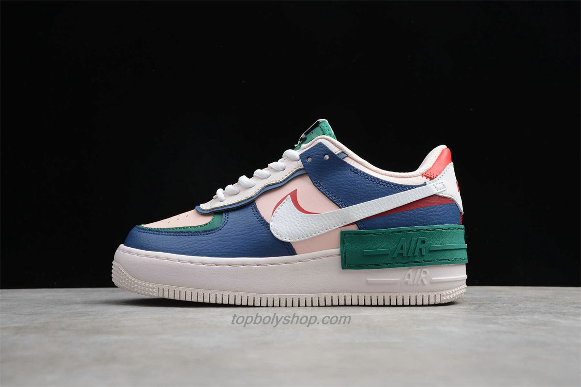 Nike Air Force 1 Shadow CI0917 003 Beige / Roze / Wit ...